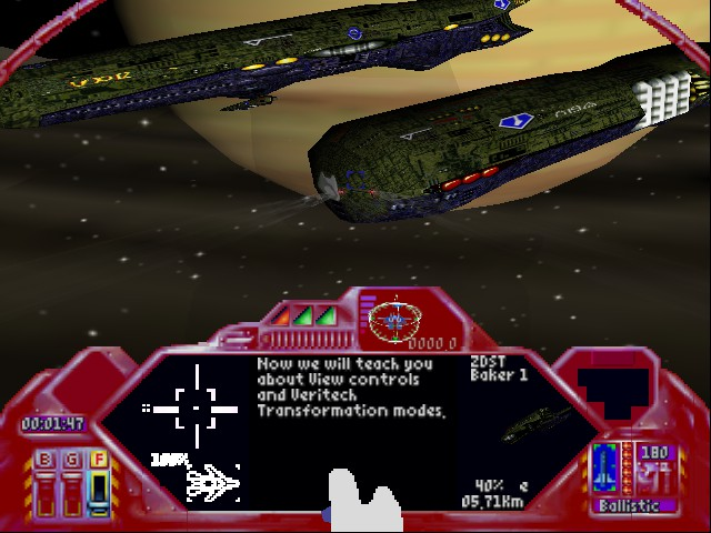 Robotech - Crystal Dreams - Taking on the fleet - User Screenshot